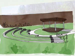 Greenshaw amphitheatre